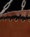 Fighter`s World Boxsack Queensberry original Leder 100 x 35cm braun (Bild-3)