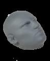 Rayben Realistic Head Target Handpratze in Kopfform Human Face #10 (Bild-3)