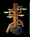 Wing Chun Dummy Wooden Man Kunststoff (Bild-3)