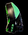 Fighter`s World XENON ALPHA Handpratze Focus Mitt green/black 1Paar (Bild-3)