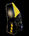 Fighter`s World XENON ALPHA Handpratze Focus Mitt black/yellow/grey 1Paar (Bild-3)