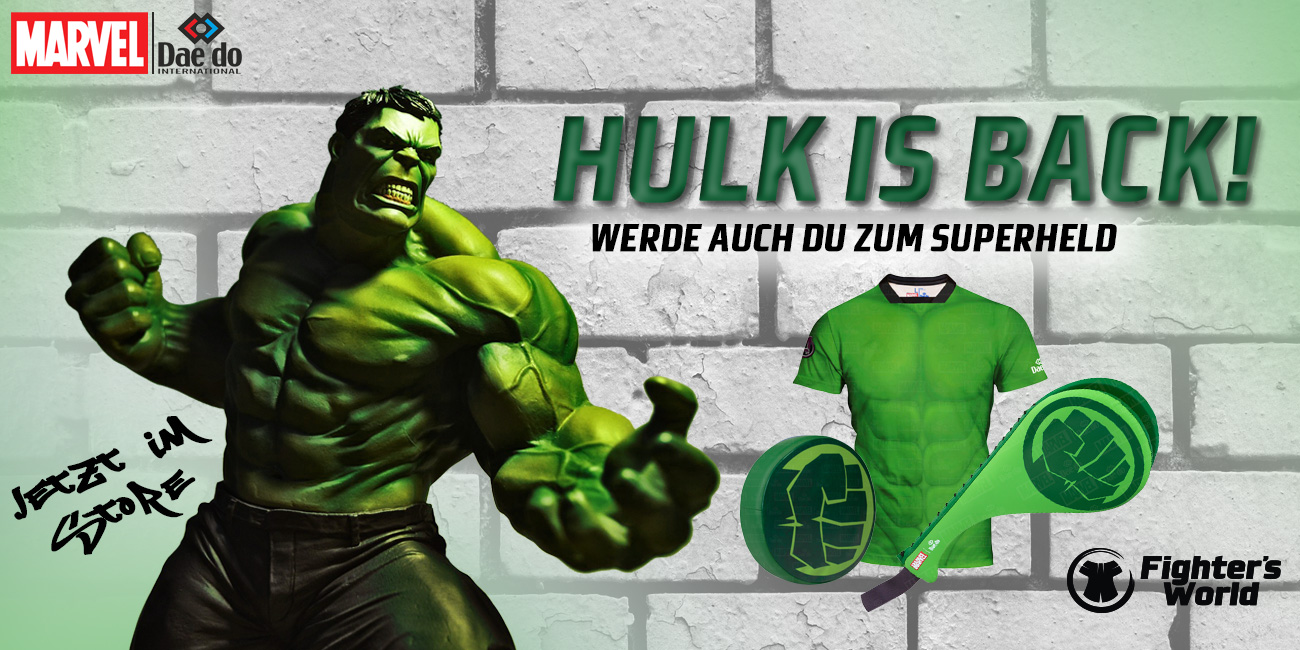 HULK IS BACK