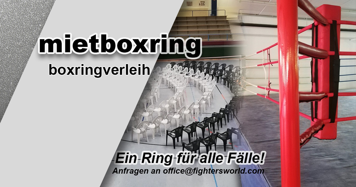 FightersWorld Boxringverleih