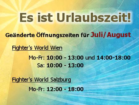 Öffnungszeiten Sommer 2015