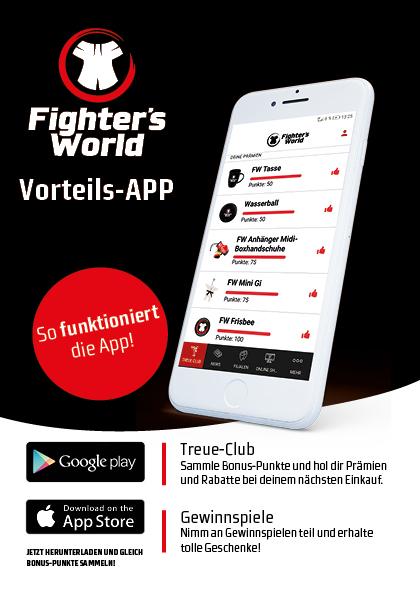 Fighter's World Vorteils-App Anleitung, so funktioniert's