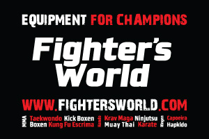 Fighter`s World Banner 300x200