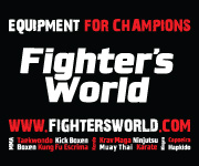 Fighter`s World Banner 180x150